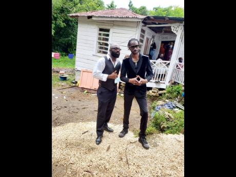 Richie Stephens (left) and Bounty Killer.