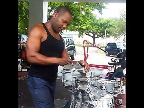 Auto mechanic Schannon Cole.