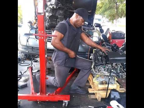 Contributed Auto mechanic Schannon Cole.